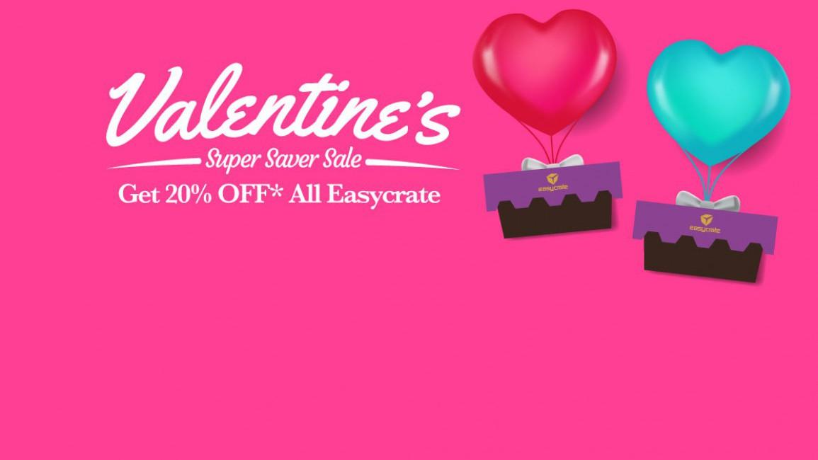 Valentine's Super Saver Sale