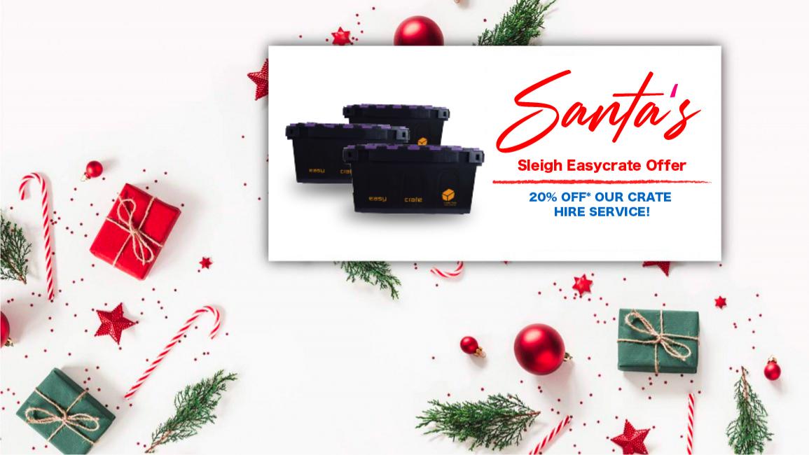 Santa's Sleigh Easycrate Offer