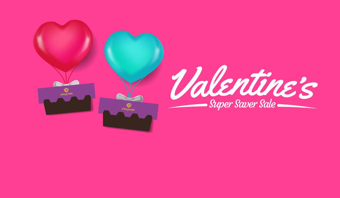 Google Ad: Valentine's Super Saver Sale