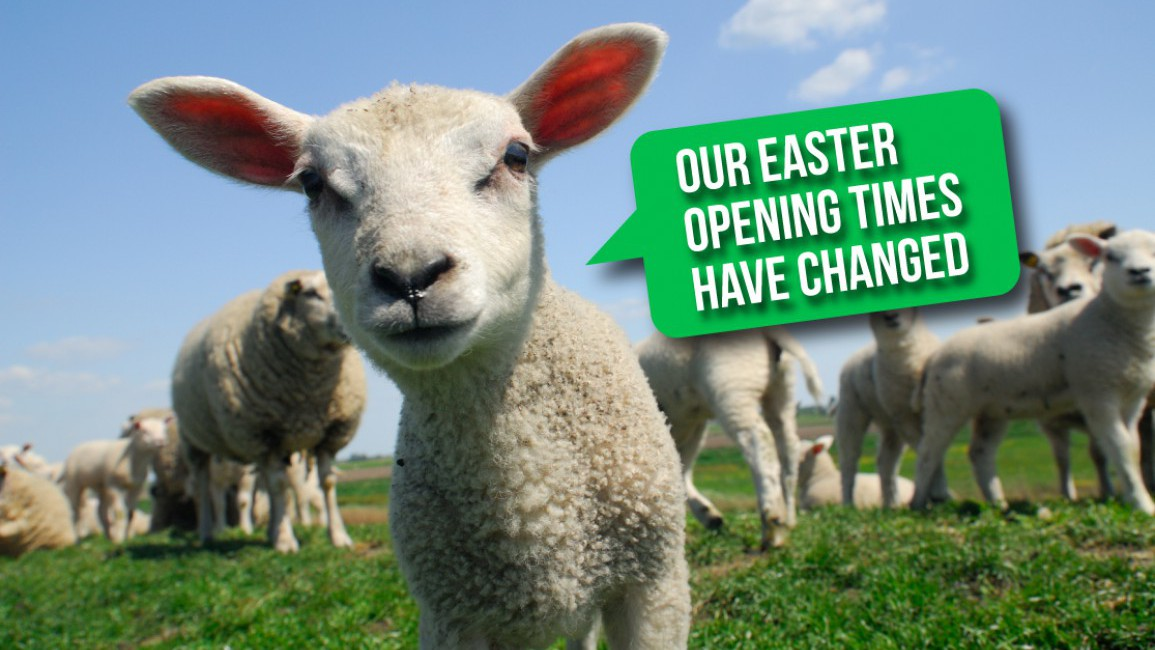 Closed for Easter Bank Holiday Weekend 2020