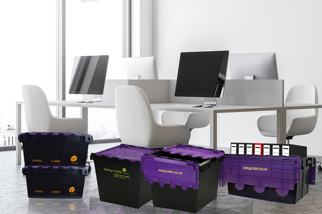 Home Working is Here to Stay: Crates for Moving & Storage