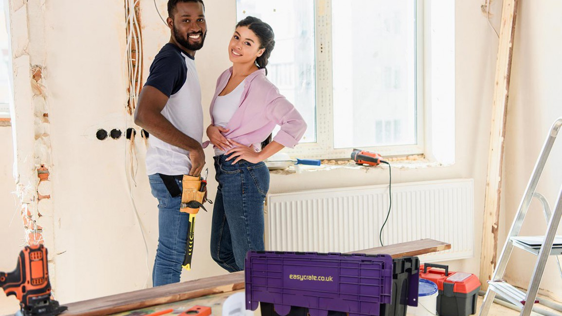 Easycrate is the perfect solution to your Summer Home Renovations and Extensions