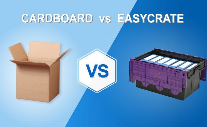 Cardboard vs Easycrate